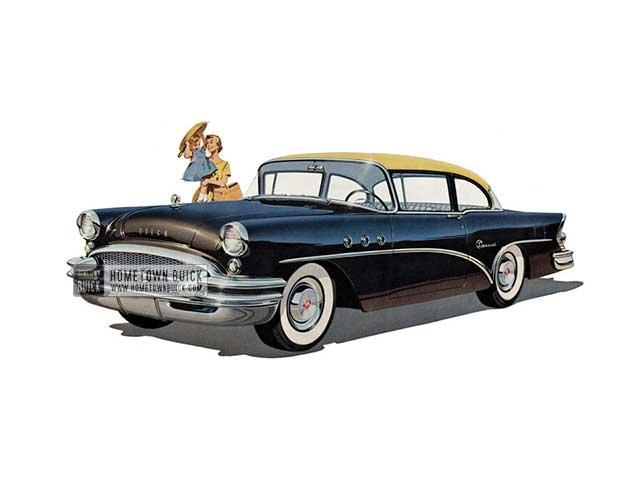 1955 Buick Special Sedan - Model 48 HB