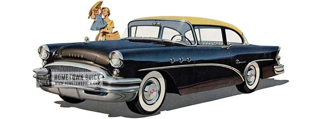 1955 Buick Special Sedan - Model 48