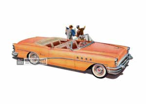 1955 Buick Super Convertible - Model 56C HB