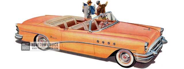 1955 Buick Super Convertible - Model 56C