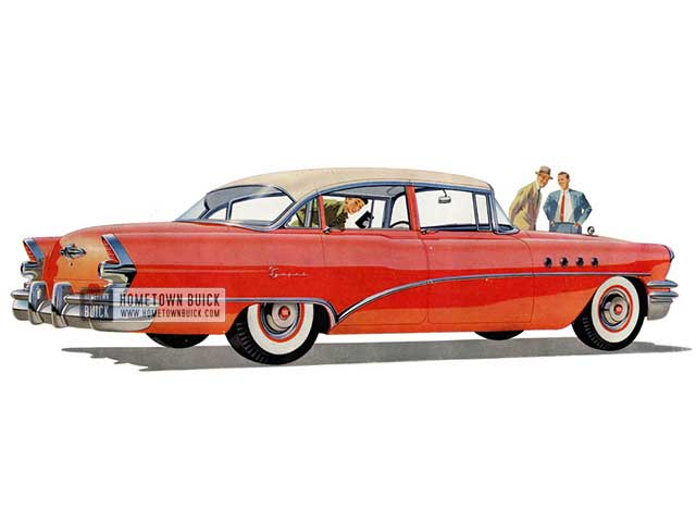 1955 Buick Super Sedan - Model 52 HB