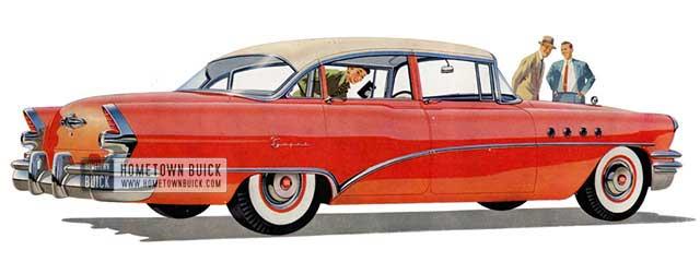 1955 Buick Super Sedan - Model 52