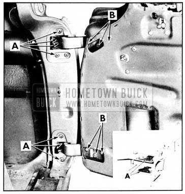 1956 Buick Adjusting Front Door Hinges