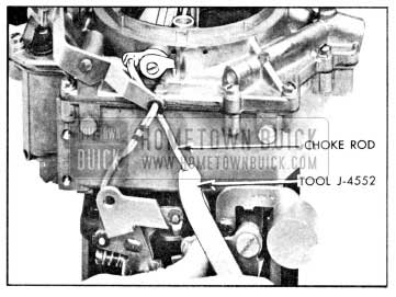 1956 Buick Adjusting Rochester Fast Idle Cam