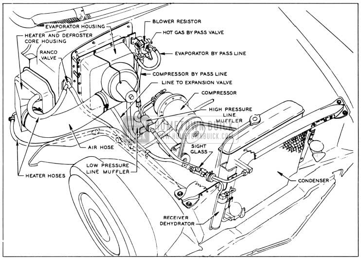 1956 buick heater \u0026 air conditioner hometown buick 1975 corvette fuse box wiring diagrams