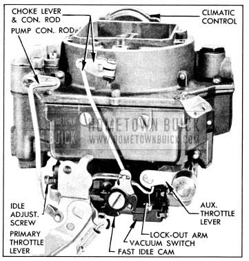 1956 Buick Carter WCFB Carburetor Assembly