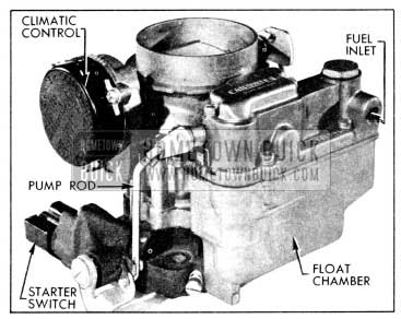 1956 Buick Carter WGD Carburetor Assembly