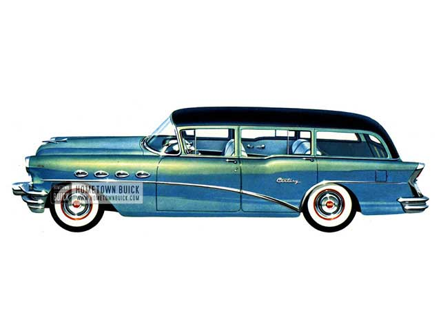 1956 Buick Century Estate Wagon - Model 69 HB