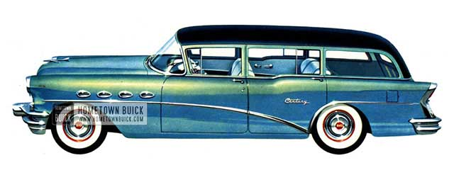 1956 Buick Century Estate Wagon - Model 69