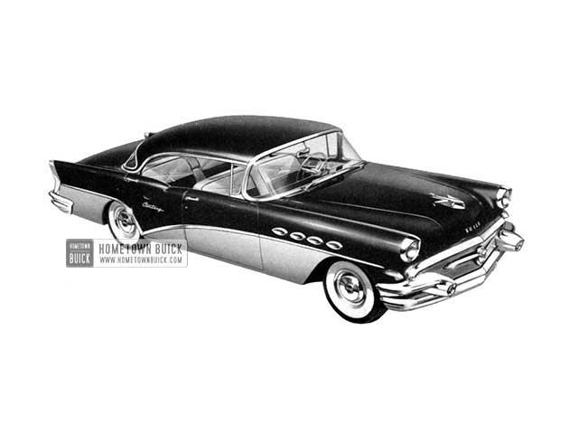 1956 Buick Century Riviera - Model 63 HB