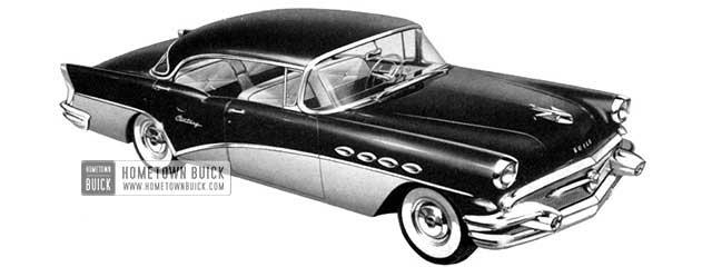 1956 Buick Century Riviera Sedan - Model 63