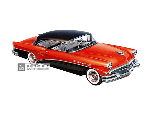 1956 Buick Century Riviera - Model 66R HB