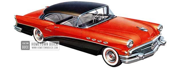 1956 Buick Century Riviera - Model 66R