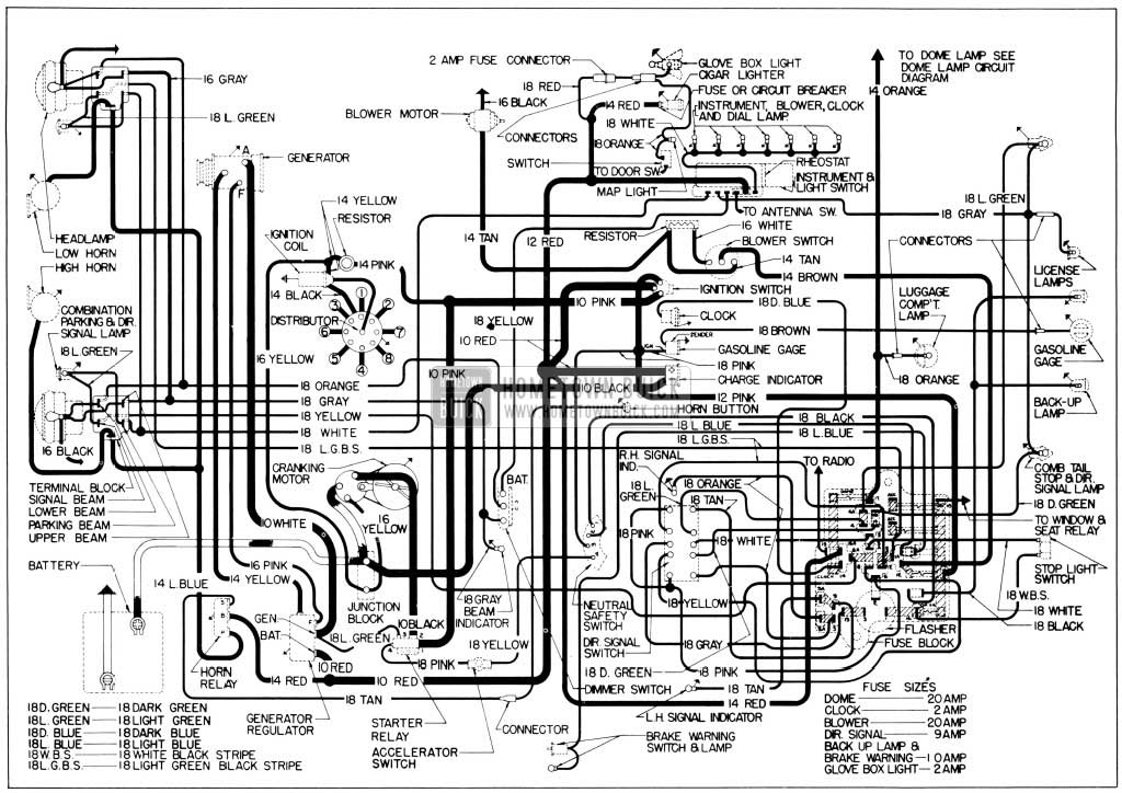56 chevy fuse block wiring 1956 buick    wiring    diagrams hometown buick  1956 buick    wiring    diagrams hometown buick