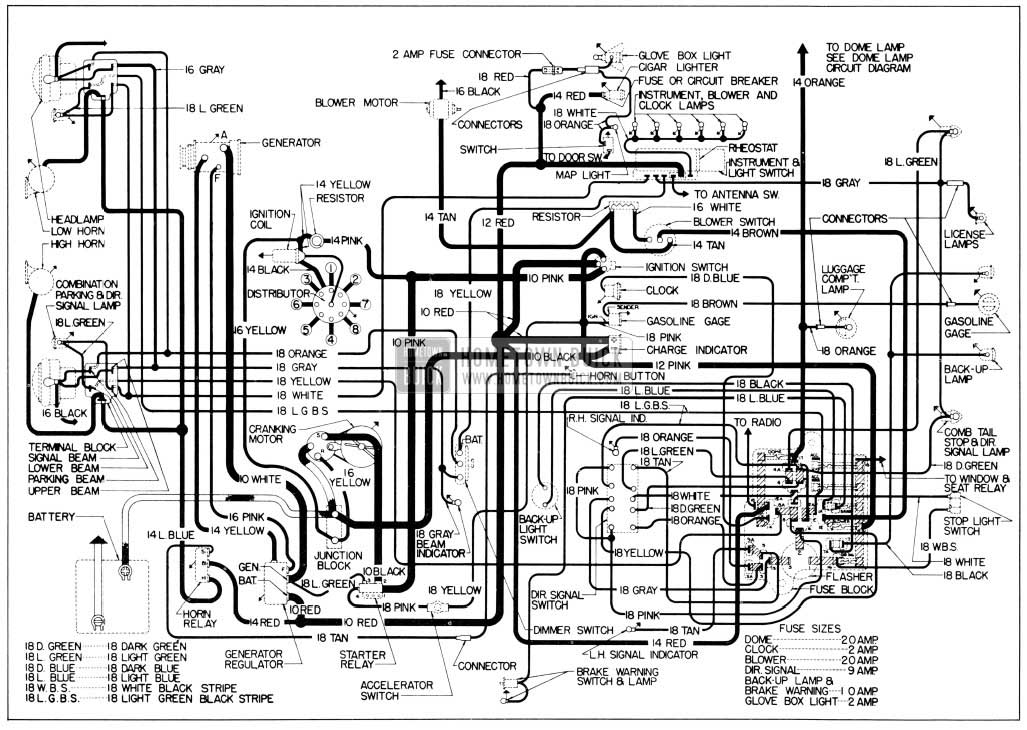 1956 Buick Wiring Diagrams Hometown Buick
