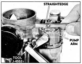 1956 Buick Checking and Adjusting Pump