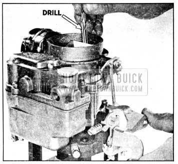 1956 Buick Checking Choke Unloader Adjustment