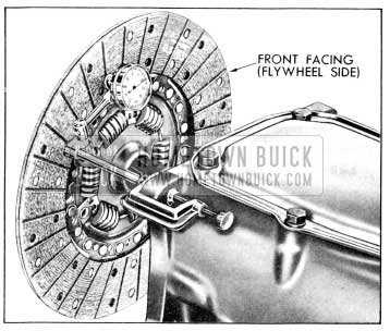 1956 Buick Checking Driven Plate for Run-out