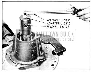 1956 Buick Checking Pinion Bearing Pre-Load