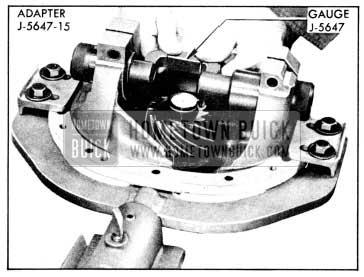 1956 Buick Checking Pinion Setting