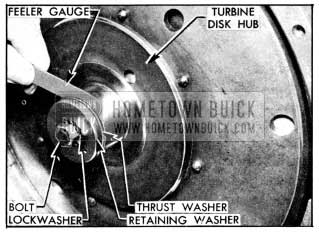 1956 Buick Checking Turbine Clearance