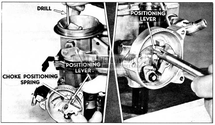 1956 Buick Choke Positioning Lever Adjustment