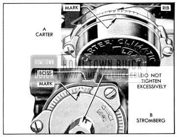 1956 Buick Choke Thermostat Settings