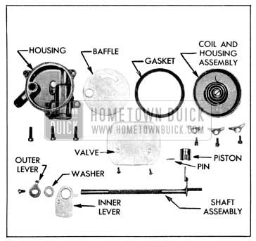 1956 Buick Climatic Control-Disassembled