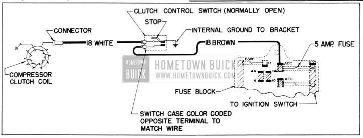1956 Buick Clutch Coil Wiring Diagram