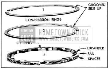 1956 Buick Compression and Oil Rings