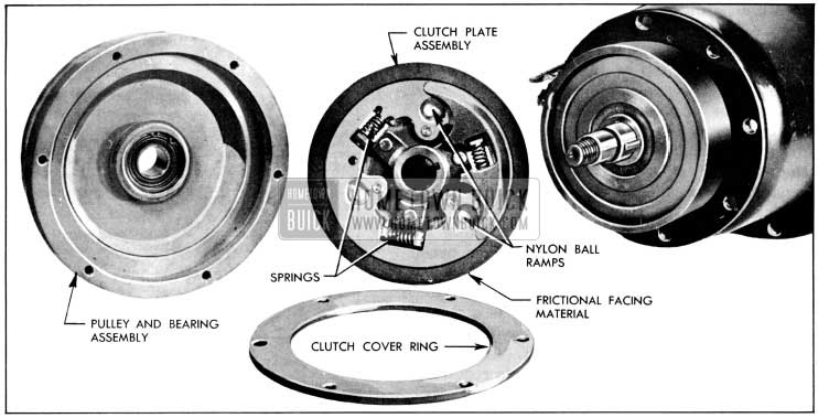 1956 Buick Compressor Clutch and Disc Assembly