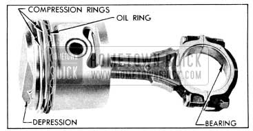 1956 Buick Connecting Rod and Piston Assembly