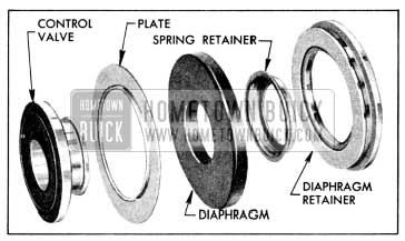 1956 Buick Control Valve and Diaphragm Disassembled