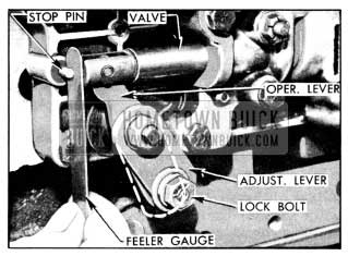 1956 Buick Control Valve Linkage Adjustments