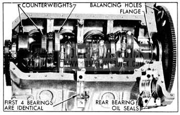 1956 Buick Crankshaft and Bearings