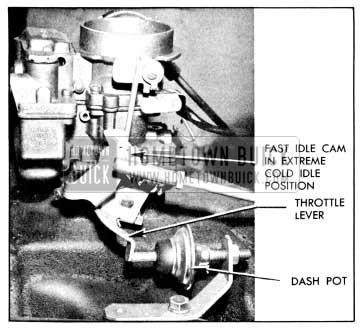 1956 Buick Dash Pot Adjustment
