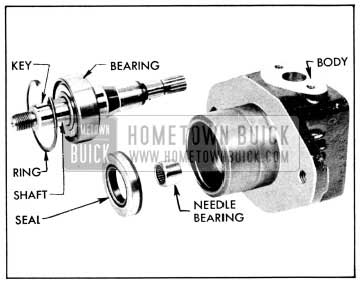 1956 Buick Drive Shaft, Bearings and Seal