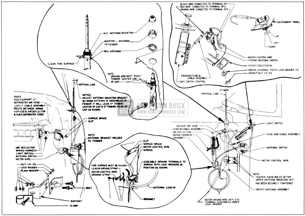 1955 buick roadmaster wiring diagram 1955 buick roadmaster