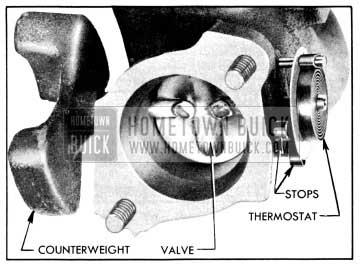 1956 Buick Engine Manifold Valve