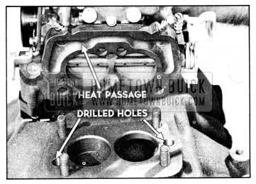 1956 Buick Exhaust Heat Passage