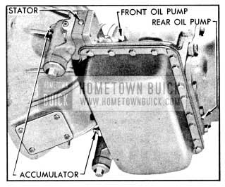 1956 Buick Gauge Connections for Oil Pressure Tests