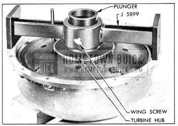 1956 Buick Gauge J 5899 on Pump and Turbine