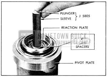 1956 Buick Gauging for Selective Spacers