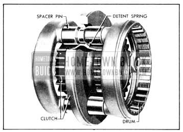 1956 Buick Gear Synchronizing Clutch