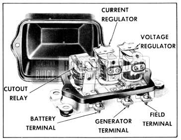 1956 Buick Generator Regulator