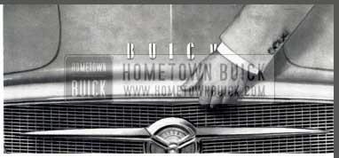 1956 Buick Hood Operation