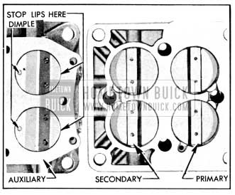 1956 Buick Installation of Throttle Valves