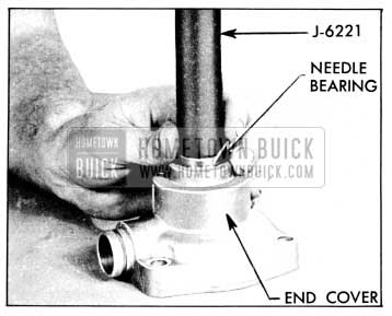 1956 Buick Installing End Cover Needle Bearing