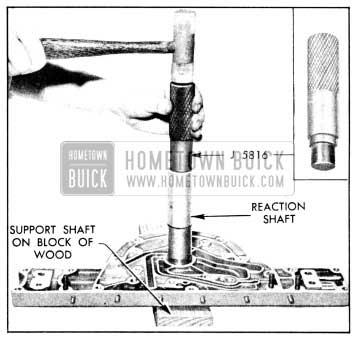 1956 Buick Installing Input Shaft Bearing