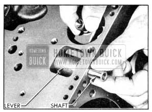 1956 Buick Installing Low Band Operating Lever and Shaft